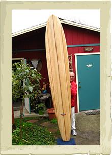 Johnny Rice Custom Surfboards - Wood Boards